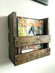 magazine racks for office. Hanging Magazine Rack Office Furniture Metal Wire Wall Mount Storage Fruit Basket Racks For E