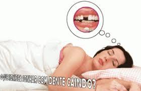 dente quebrado é um alerta