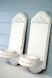 the speckled dog drab to fab shabby chic wall sconces regarding design 6