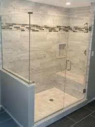 glass showers enclosures glass shower doors glass shower enclosures with half wall