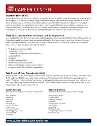 Transferable Skills Example Resumes 1000 Ideas About Resume Skills On Pinterest Business