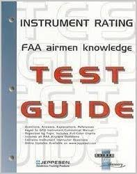 Jeppesen Chart Study Guide Title Instrument Rating Faa Airmen Jeppesen