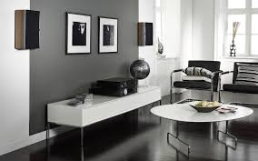Monochrome Living Room Decorating Grey Living Room Decor Ideas Black Wood Coffee Table With Trays