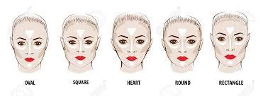 contour and highlight makeup stock vector 71713975