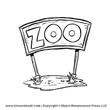 zoo sign clip art black and white.  Art With Zoo Sign Clip Art Black And White L