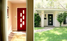mid century front doorGood Sources for MidCentury style Entry Doors