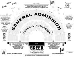 Greek Theater Los Angeles Seating Chart With Seat Numbers