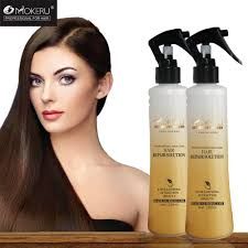 color protection fast smoothing moisturizing dry hair hyaluronic acid repair hair serum for damaged hair care treatment