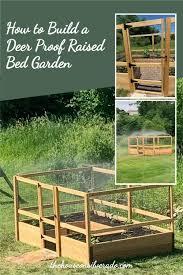 deer proof raised bed garden