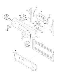Supple jbgk electric range control panel door parts diagram also