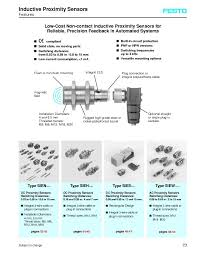 inductive proximity sensors for reliable precision feedback from inductive proximity sensors for reliable precision feedback from festo