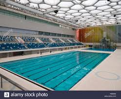 indoor olympic pool. Indoor Swimming Pool Water Cube At Olympic Center, Beijing, China, Asia N