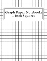 printable grid paper 1 2 inch graph paper notebook 1 inch squares 100 pages reissa roni