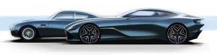 Aston Martin Dbz Centenary Colleciton Car Body Design