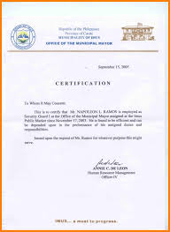 5 How To Make Certificate Of Employment Letter Joblettered