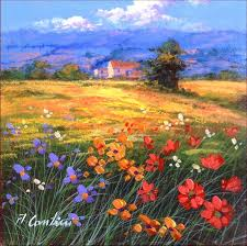 painting painting n 5 italian landscape original oil painting of anna cantini enjoy with colors