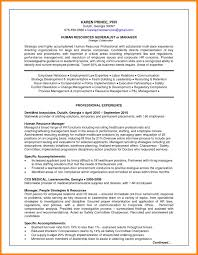 8 Human Resources Manager Resume Sample Paige Sivierart