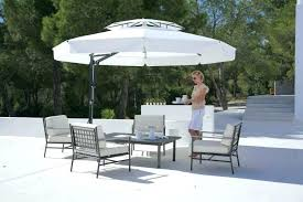 offset umbrella replacement canopy for two tier umbrella 11 ft