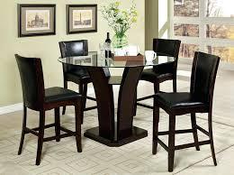 black pub table and chairs black 5 piece pub dining table set black pub table chairs black pub table