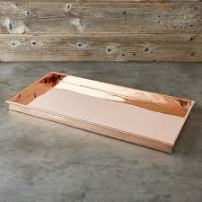 Decorative Boot Tray Stunning Copper Boot Tray Williams Sonoma
