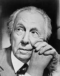 Frank Lloyd Wright - probably the most famous of American architects and  interior designers, Wright