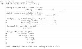 chapter 3 solving linear equations answers math linear equations in two variables ex to math for grade 6