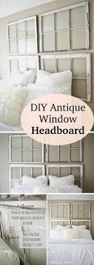 Five Panel Door Headboard Best 25 Old Window Headboard Ideas On Pinterest Old Window