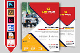 Car Wash Flyer Template Vol-01 ~ Flyer Templates ~ Creative Market