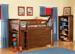 kids bunk bed with storage. Image Of: Contemporary Loft Bed With Desk IKEA Kids Bunk Storage O