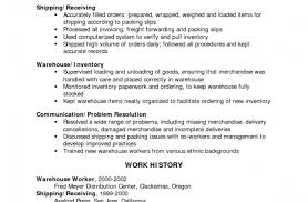 Sample Resume For Warehouse Worker Resume Free Sample Resume Templates Word Dazzling Simple Sample 91