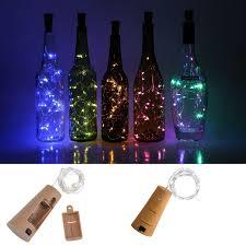 String Light Wine Bottle Details About Cork Shaped Led Copper Wire String Light Wine Bottle For Xmas Party Decor St 197