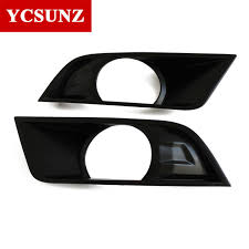 2016 2017 suitable ford ranger pickup accessories abs black fog lights cover for ford ranger