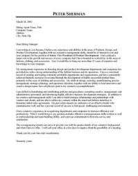 fashion cover letter cover letters for internship