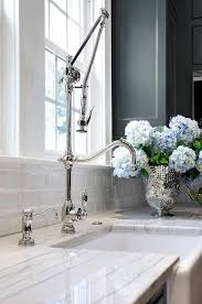 restaurant kitchen faucet small house: fabulous kitchen features dark gray cabinets painted porters paint gray bronze paired with luce di luna