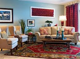 casual eclectic family room