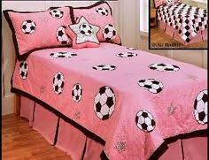Soccer Themed Rooms for Girls girls sports theme bedroom