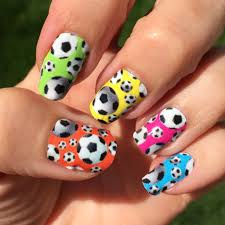 Soccer Nail Art Designs | Spirit Wear Nail Wraps