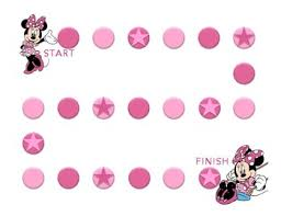 Minnie Mouse Behavior Sticker Chart Pdf Printable