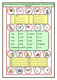 English Esl Vowel Sounds Worksheets Most Downloaded 21