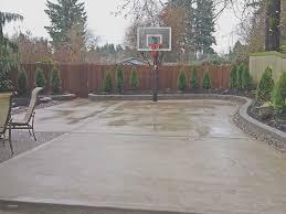 concrete backyard concrete retaining wall ideas cement landscape design