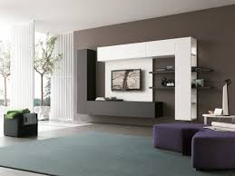 Living Room Wall Design Media Wall Furniture Tv And Sounds Contemporary Italian Furniture