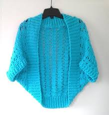 Crochet Shrug Pattern