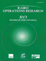 RAIRO - Operations Research