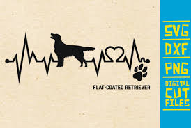 Freesvg.org offers free vector images in svg format with creative commons 0 license (public it is absolutely not required, but if you like this website, any mention of or link back is highly appreciated. Flat Coated Retriever Dog Graphic By Svgyeahyouknowme Creative Fabrica