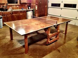 My little brother's first DIY - A ping pong table ...