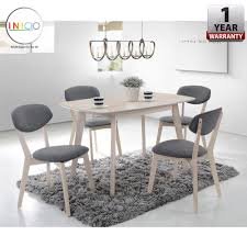 cheap dining room table and chairs. INICIO: [120 X 60 Cm] Ganda Rubber Solid Wood Dining Table Set With Cheap Room And Chairs