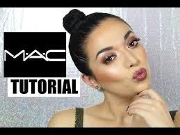 one brand makeup tutorial mac cosmetics