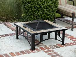 Tuscan Tile Mission Style Square Fire Pit 60243