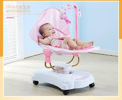 baby to sleep cradle rocking chair electric crib baby bouncer swing with plug intelligent newborn bed bluetooth version