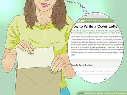 How To Address A Resume Envelope With Examples Wikihow